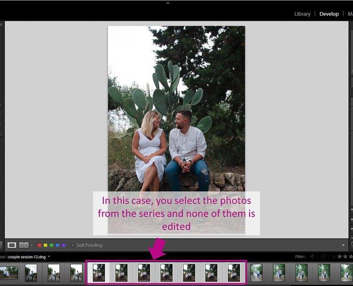 A screenshot showing how to batch-edit