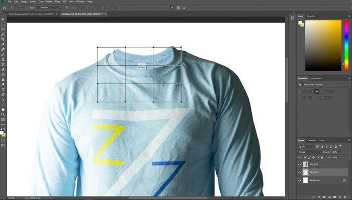 a screenshot of how to edit clothing photography in photoshop