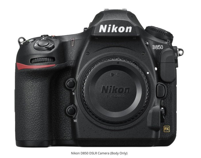 Nikon D850 best camera for real estate photography
