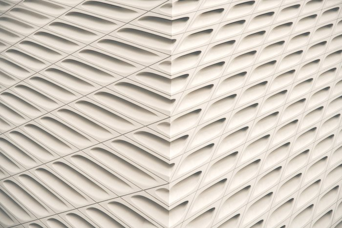 An example of form in abstract photography, each component consisting of length,width and depth.