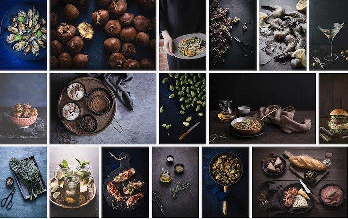 A screenshot from Darina Kopcok Photography website