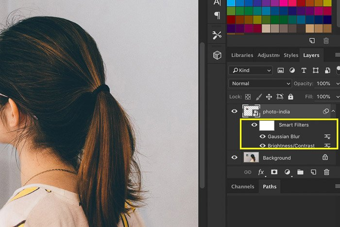 How to Use Photoshop Smart Objects - edit smart filters