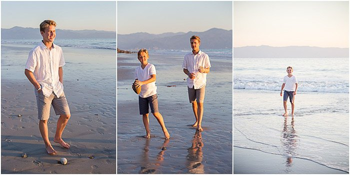 A teen photography triptych