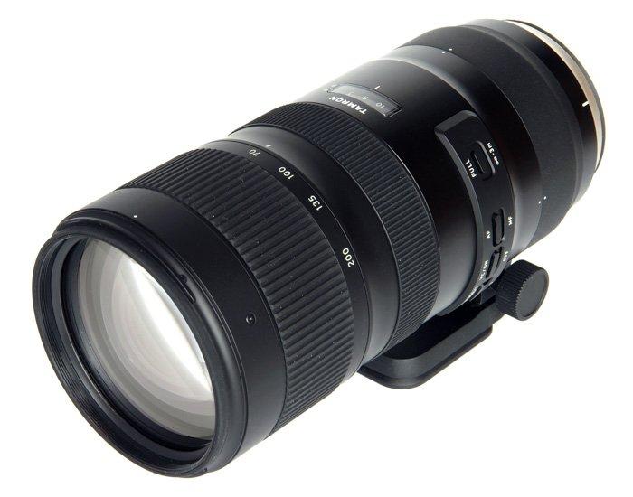 Tamron SP 70-200 mm f/2.8 Di VC USD G2 telephoto lens