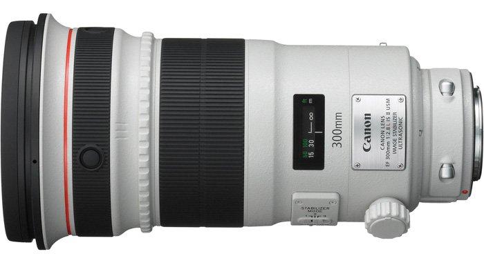 Canon EF 300 mmf/2.8LIS II USM telephoto lens