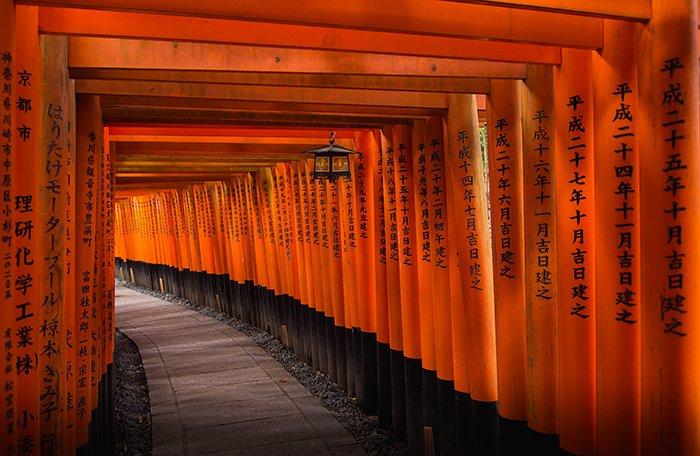 The Fushimi Inari Shrine in Tokyo - Japan photography tips