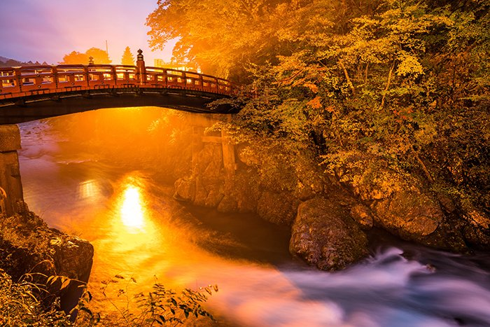 Stunning view of a bridge in Nikko, Japan - best travel photography locations