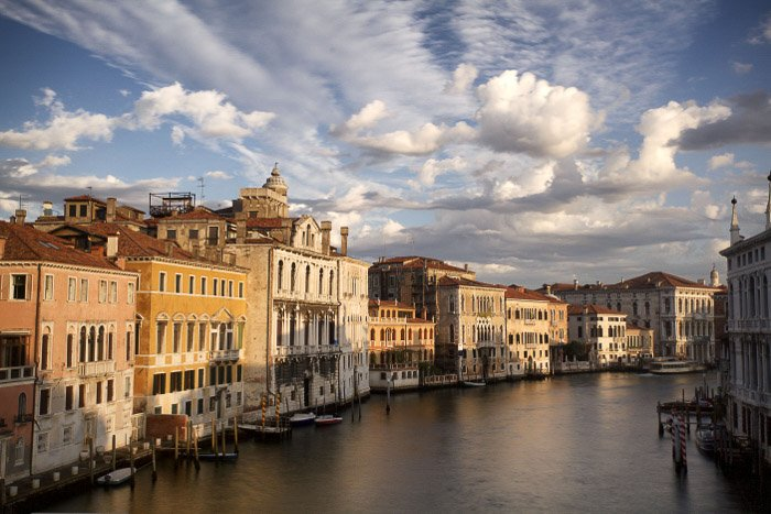 The view from the other side of the Academia bridge - best italy pictures