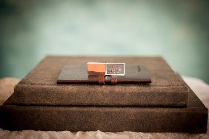 A product shot of a boudoir photography portfolio