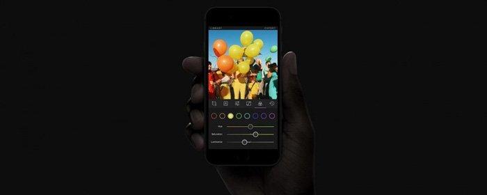 Darkroom editing app screenshot - best Photoshop apps