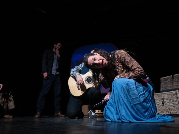 A stage photography shot of a live theatre performance