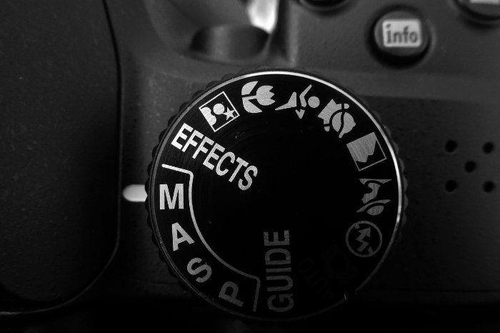 A close up of camera setting for taking whale pictures
