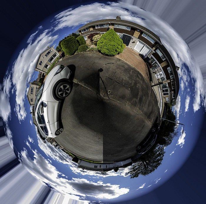 Tiny Planet photography