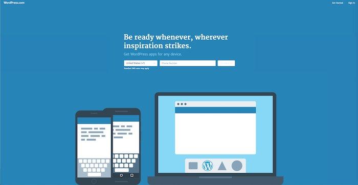A screenshot of the Smugmug homepage - best website builder for photography