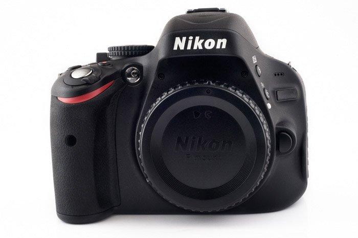 A Nikon DSLR camera body - grey market cameras