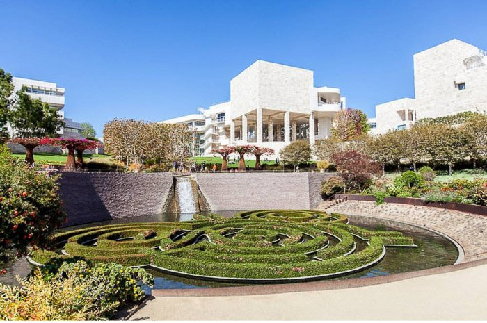 The Getty Center and its manicured grounds. Best Los angles photography locations