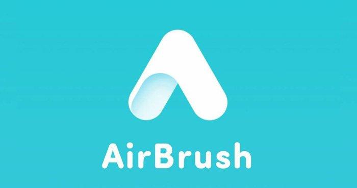 The airbrush photo retouching app logo