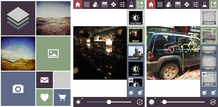 a screenshot of Stackables texture app interface