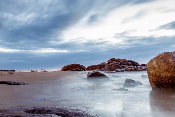 a beautiful coastal landscape photos