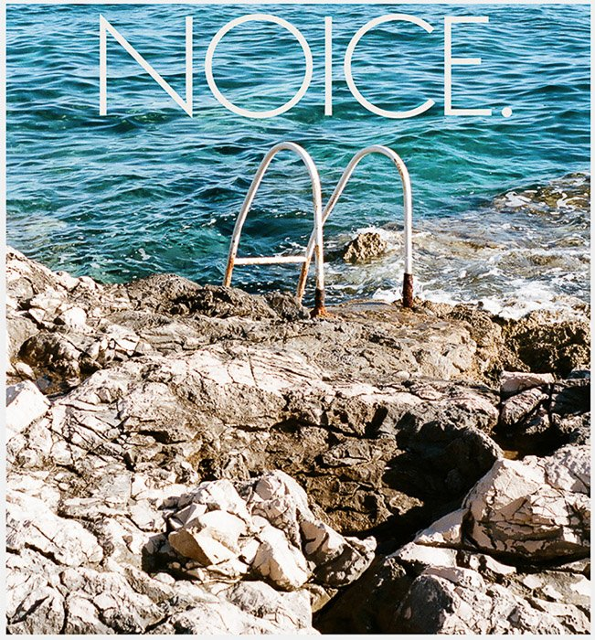 The cover of Noice magazine for photo submissions