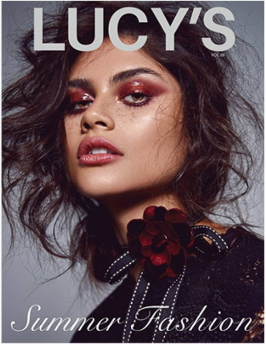 Cover of Lucys photography magazine