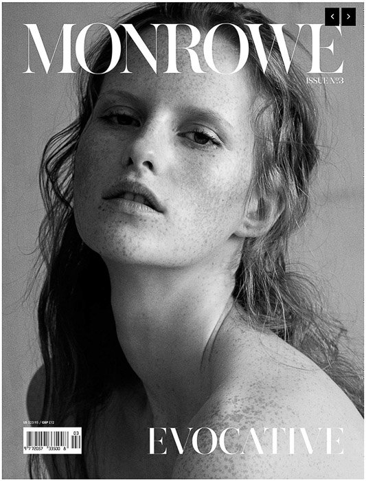 The cover of Monrowe magazine that accepts photo submissions
