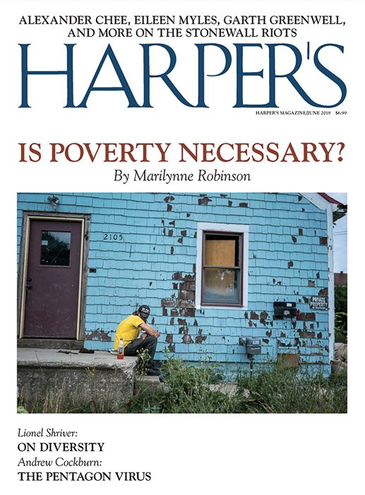 The cover of Harpers magazine for accepting photo submissions