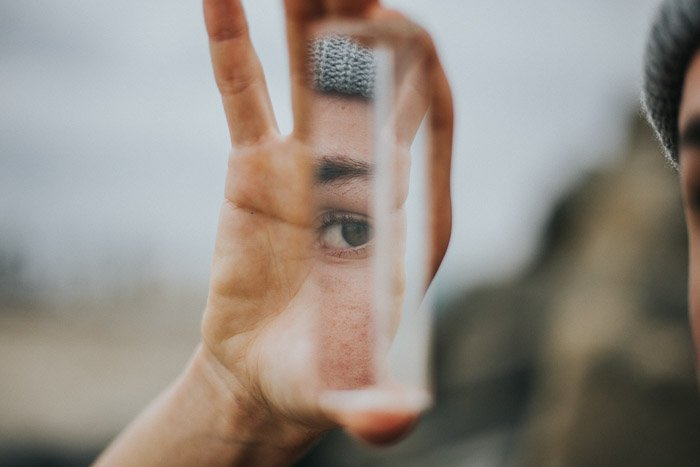 Artistic portrait taken using fractal filters