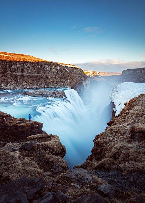 Gullfoss Falls - Iceland photography locations