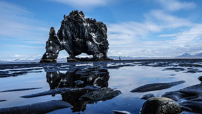 Hvítserkur seastack iceland