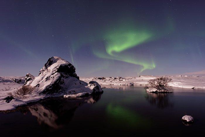 Mývatn Lake in Iceland