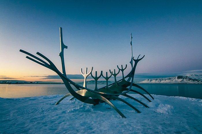 Sun Voyager sculpture Iceland