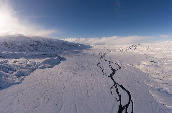 Thórsmörk mountain ridge, iceland photos