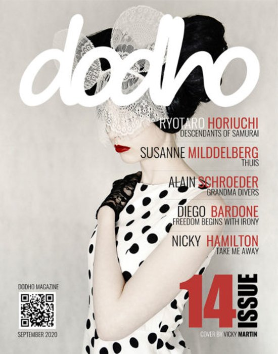 The cover of Dodho Magazine