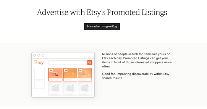 A screenshot of publishing listings to sell photos on etsy