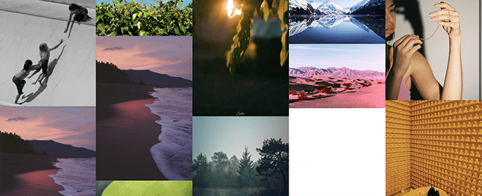 A screenshot from the Original Photographers tumblr photography blog