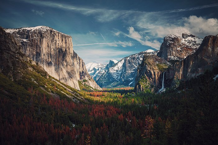 Photo of Tunnel View in Yosiute national park