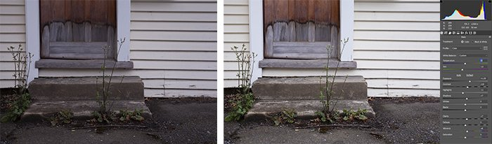 A screenshot showing how to use basic Tone Adjustments In Photoshop - using tone in photography