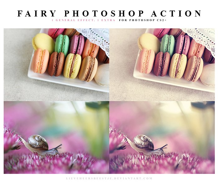 Fairy Free Photoshop Actions