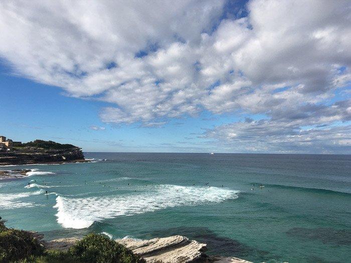 a stunning seascape at Bondi beach - smartphone landscape photos