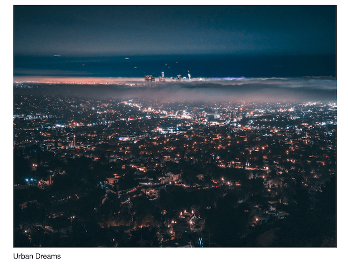 Example of nocturnal cityscape you can obtain with the Urban Dreams collection. - best astrophotography software resources