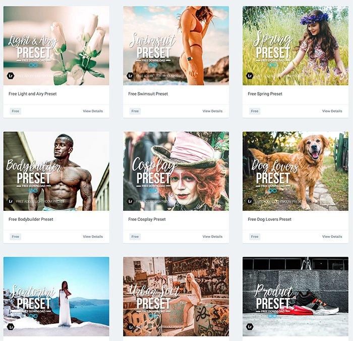 Photonify免费样品Instagram预设的截图