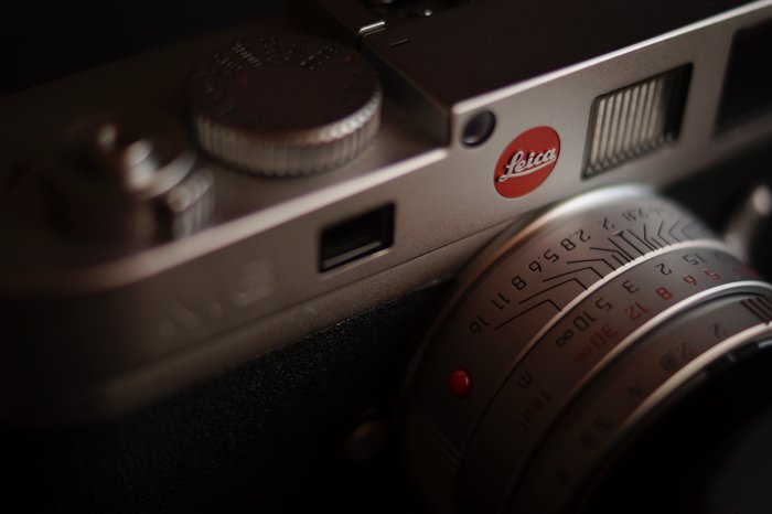 a closeup of a leica camera - find camera manuals online