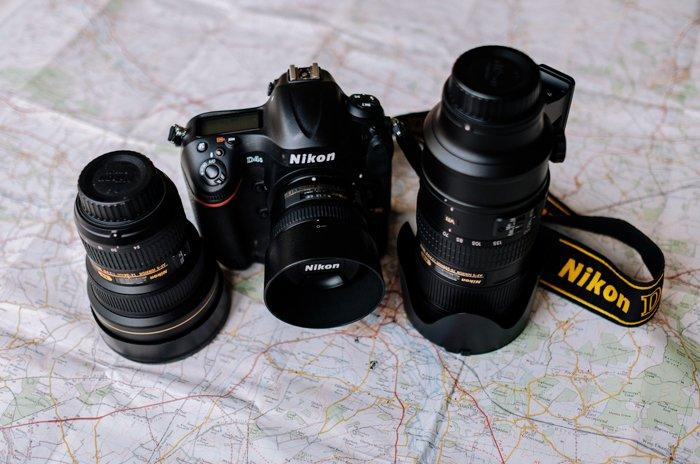 a Nikon dslr camera and lenses - find camera manuals online