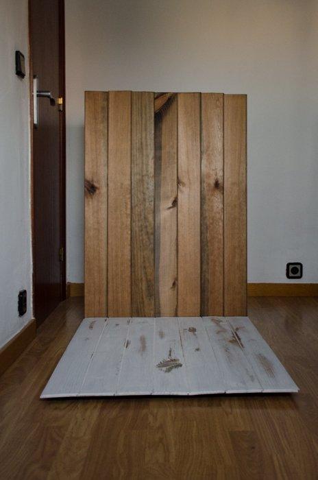 a DIY wood backdrop for photos