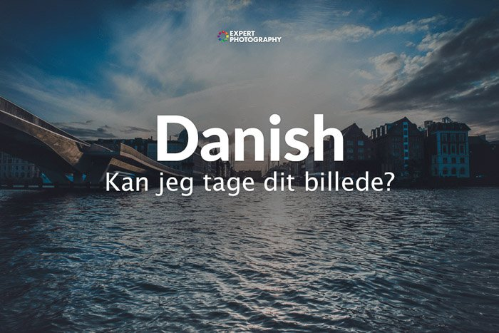 how to say can i take a picture in Danish
