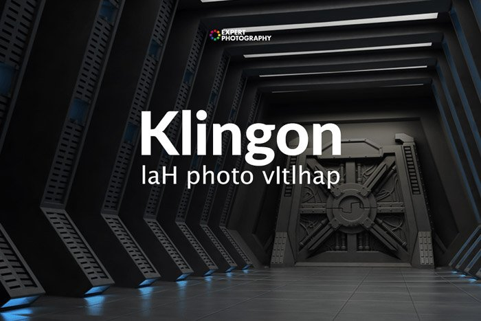 how to say can i take a picture in Klingon