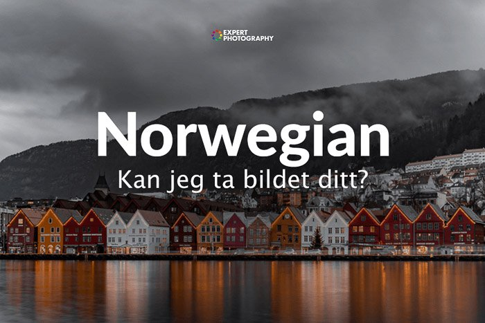 how to say can i take a picture in Norwegian