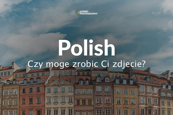 how to say can i take a picture in Polish