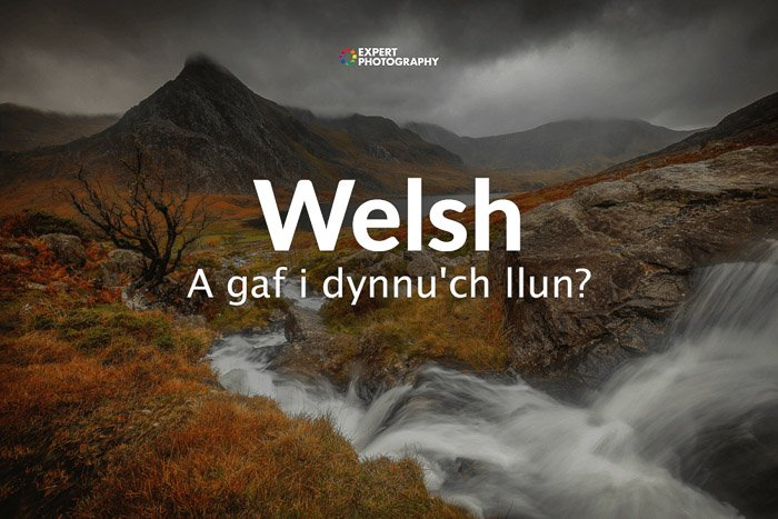 how to say can i take a picture in Welsh
